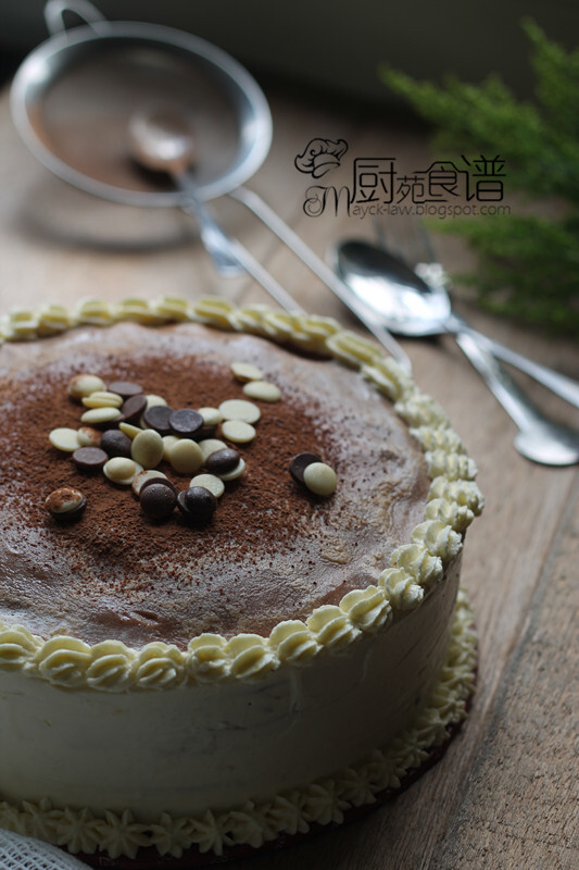 美禄咖啡千层蛋糕 【Milo & Coffee Mile Crepe Cake】