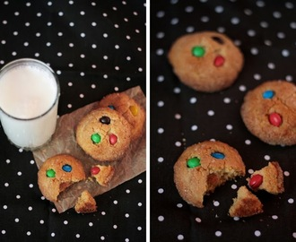 M&M's peanut butter cookies