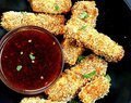 Crispy Tofu with Sweet Chili Sauce