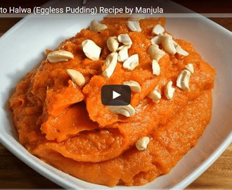 Sweet Potato Halwa Recipe Video