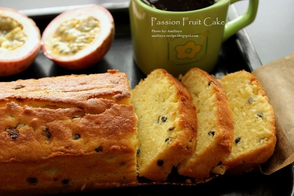 Passion Fruit Cake 百香果蛋糕