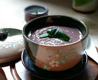 椰汁红豆沙 Red Bean Soup with Coconut Milk