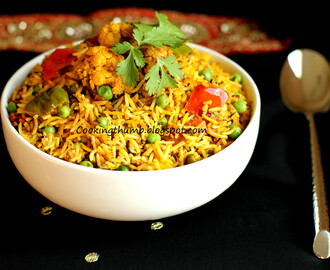 Vegetable Biryani (Hyderabadi)