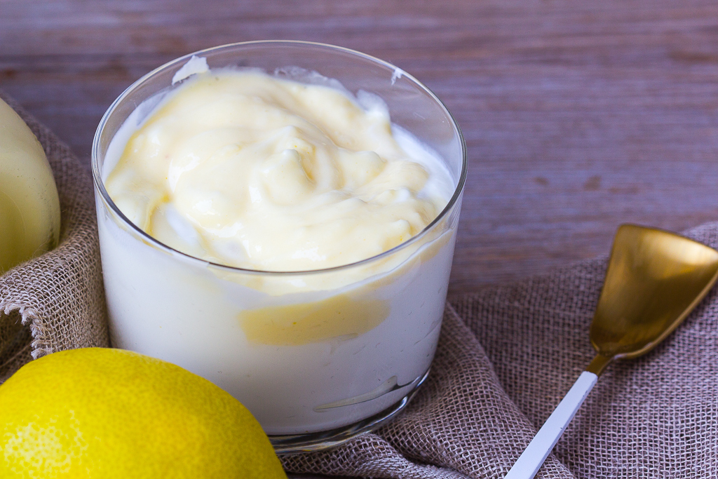 Lemon Curd im Vitamix
