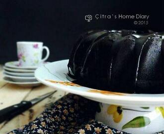 Dark Chocolate Forest moist steamed Cake