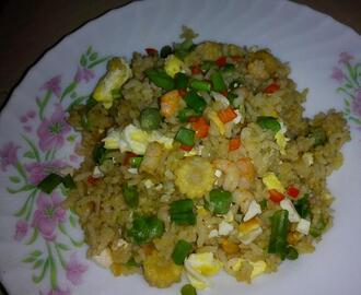 FRIED RICE WITH SALTED EGGS