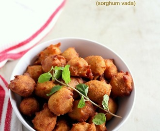 Jowar Vada Recipe (Desai Vada), How to make Jowar Vada
