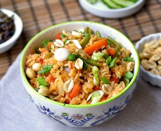 Indonesian Nasi Goreng for #Food of the World