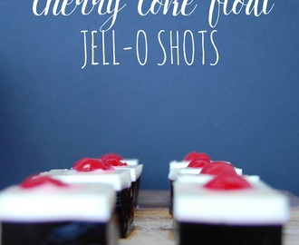Cherry Coke Float Jell-O Shots