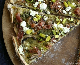 Power Up With Green – Arugula Pesto Pizza