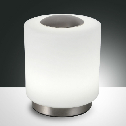 Dimbar bordslampa Simi med touch-funktion