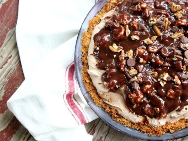 Texas Flood Pie – Like Mississippi Mud Pie Only Better