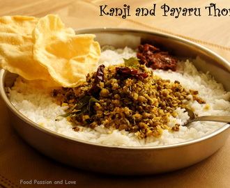 KANJI AND CHERU PAYARU THORAN ~ GOOD FRIDAY SPECIAL