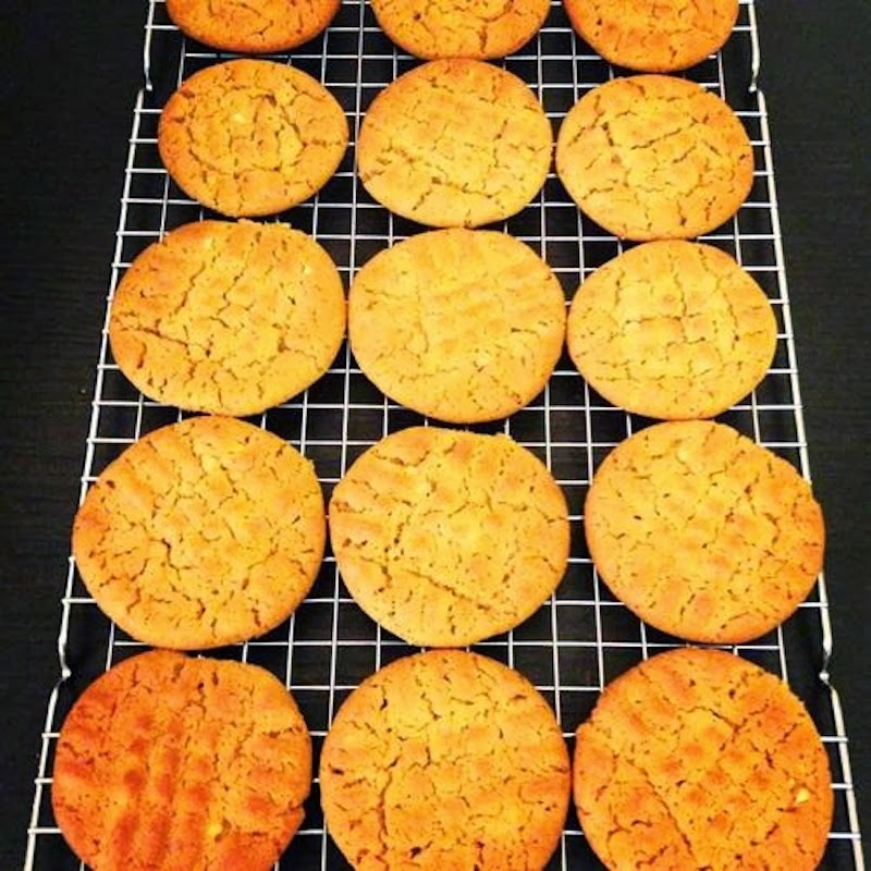 Арахисовое печенье (Peanut butter cookies)