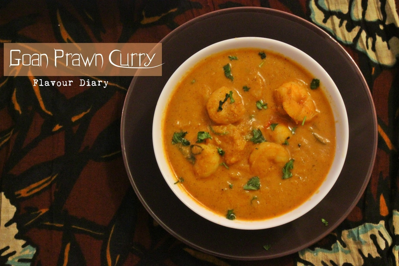 Goan Prawn Curry | Goan Recipes | Flavour Diary | Sea Food