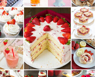 18 Sweet Strawberry Recipes