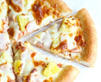 Hawaiian Pizza Pineapple (Gluten Free Egg Free)