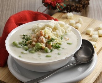 Menu POTATO CREAM SOUP