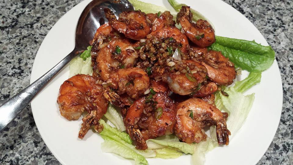 Stir-fried Soy Shrimps