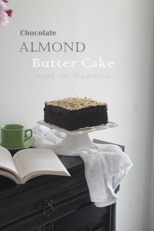 杏仁巧克力蛋糕【Chocolate Almond Butter Cake】