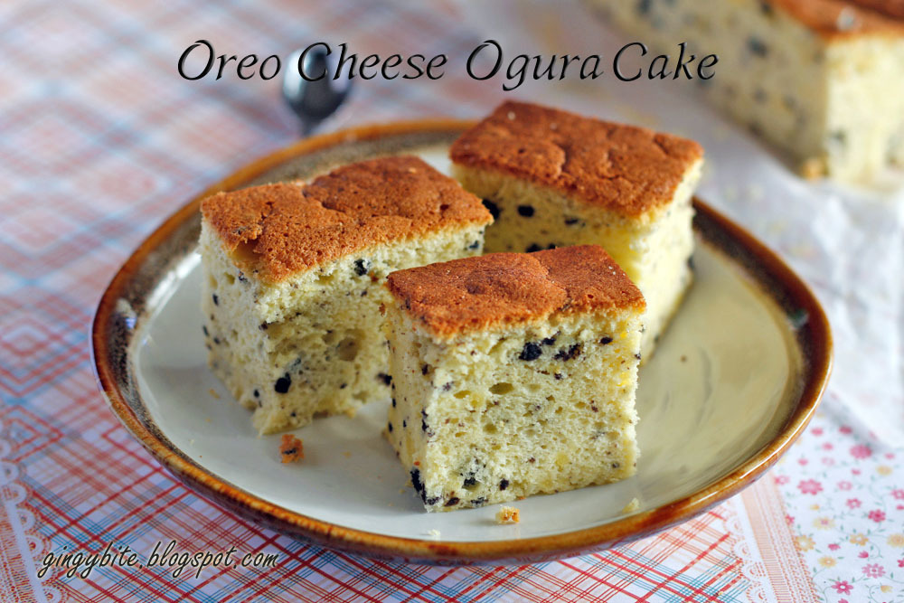 Oreo Cheese Ogura Cake 奥利奥芝士蛋糕