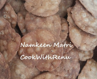 Puri's for Sev Puri or Namkeen Matri (Round Shape)