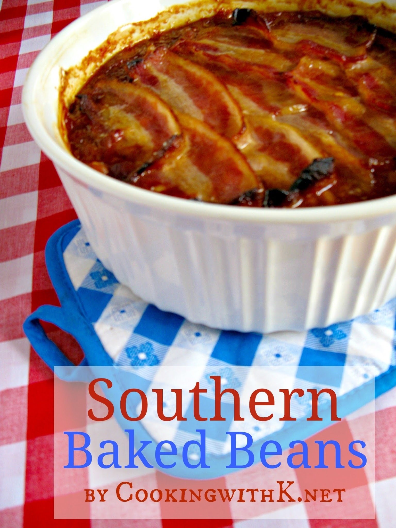 Mama's Southern Style Baked Beans {Granny's Recipes}