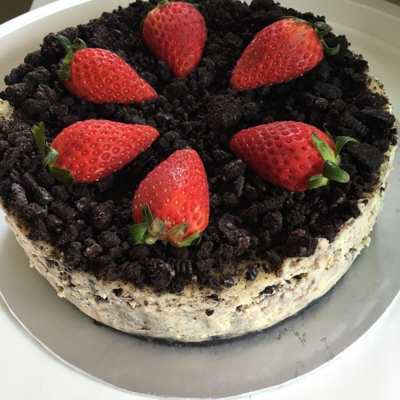 Baked Oreo Cheese Cake