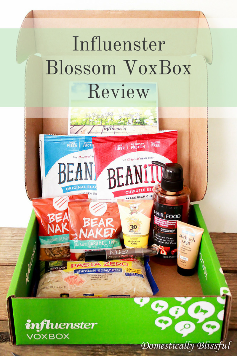 Influenster Blossom VoxBox Review