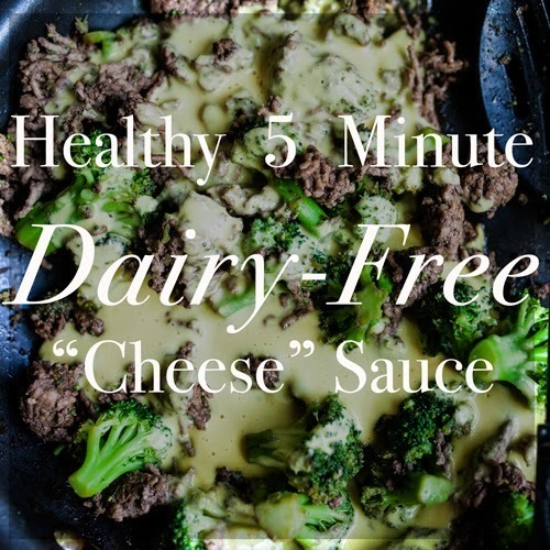 "Paleo Dairy-Free ""Cheese"" Sauce Recipe"