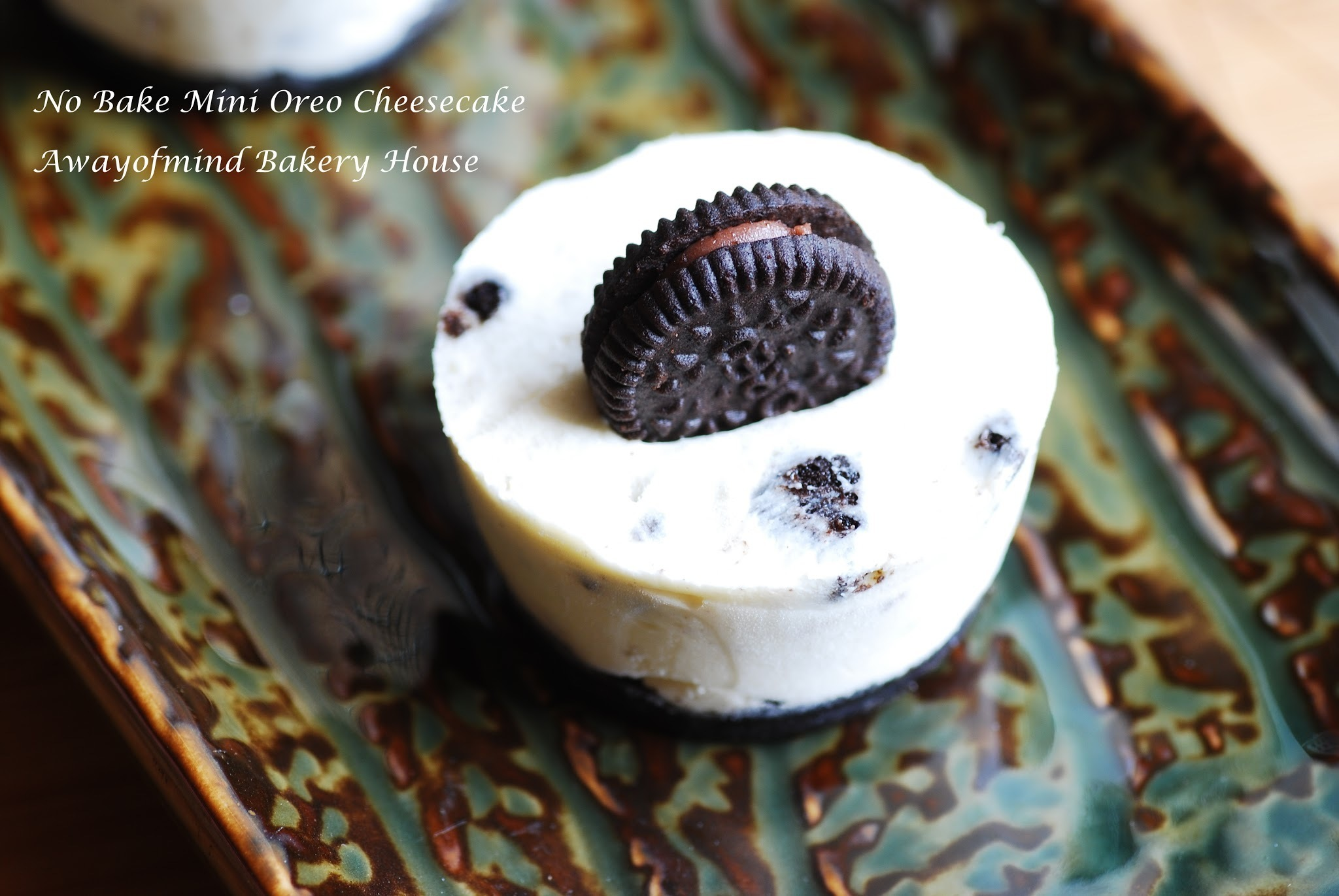 No Bake Mini Oreo Cheesecake