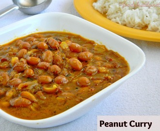 Verkadalai Kuzhambu Recipe / Peanut Curry