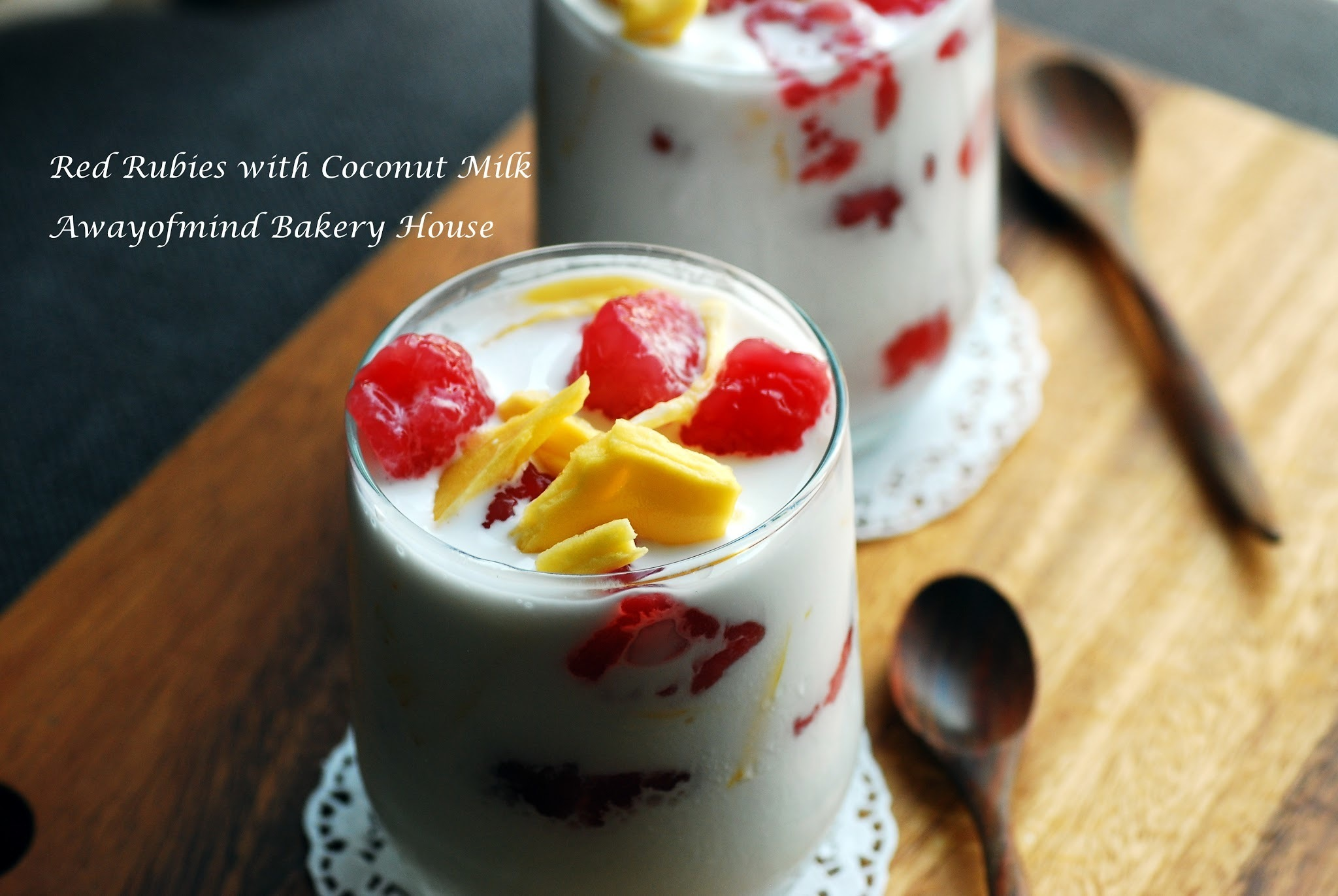 Red Rubies with Coconut Milk