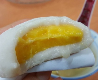 团圆芒果糯米糍 (Mango Glutinous Rice Dumplings)