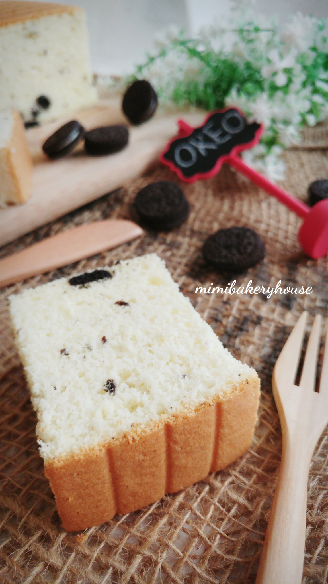 Oreo Cheese Ogura Cake [09 Jun 2016]