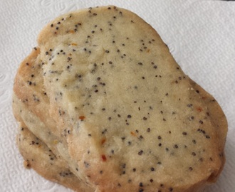 Citrus Poppy Seed Short-bread Cookies