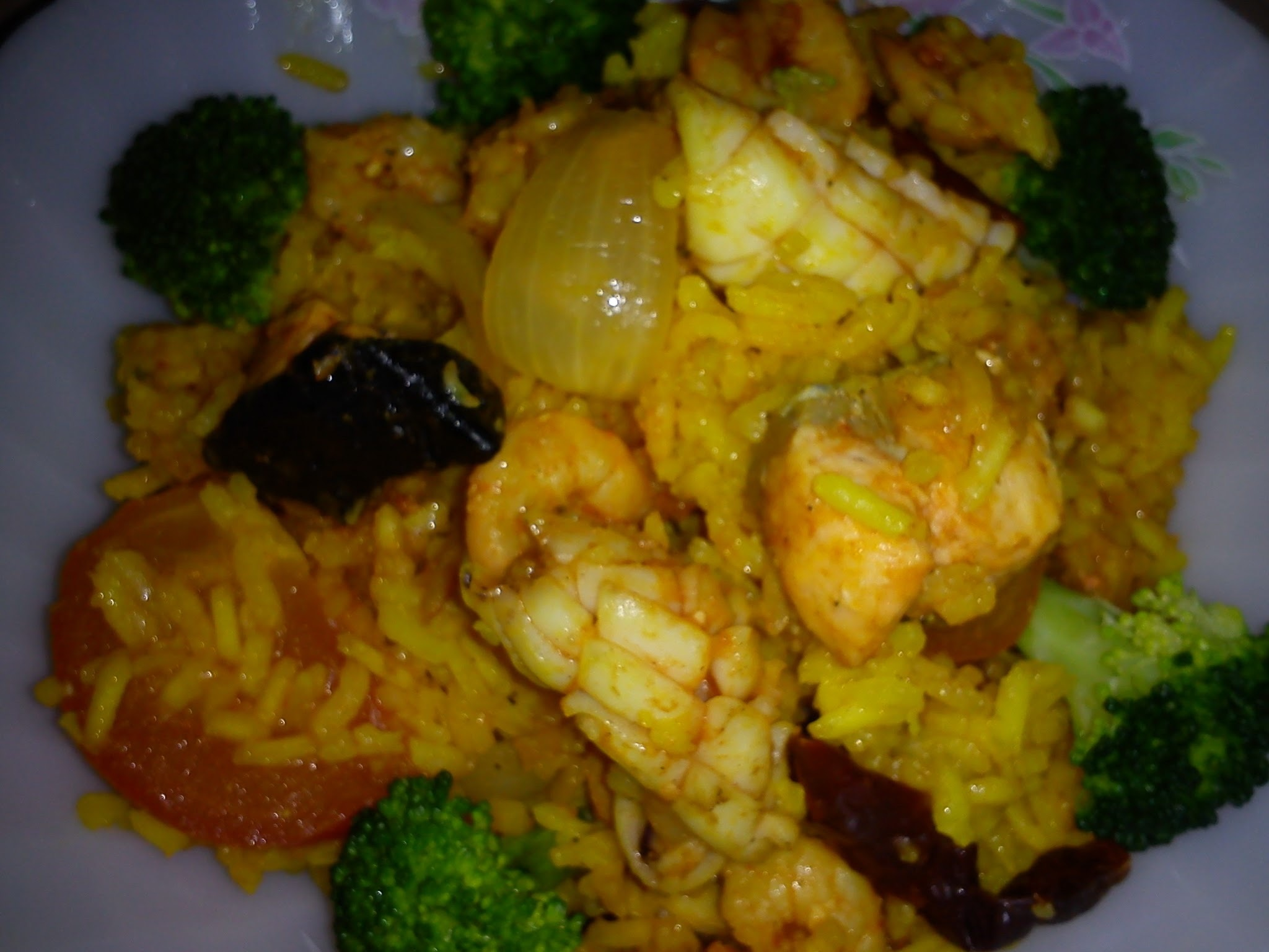 SPICY TOMATO SEAFOOD RICE