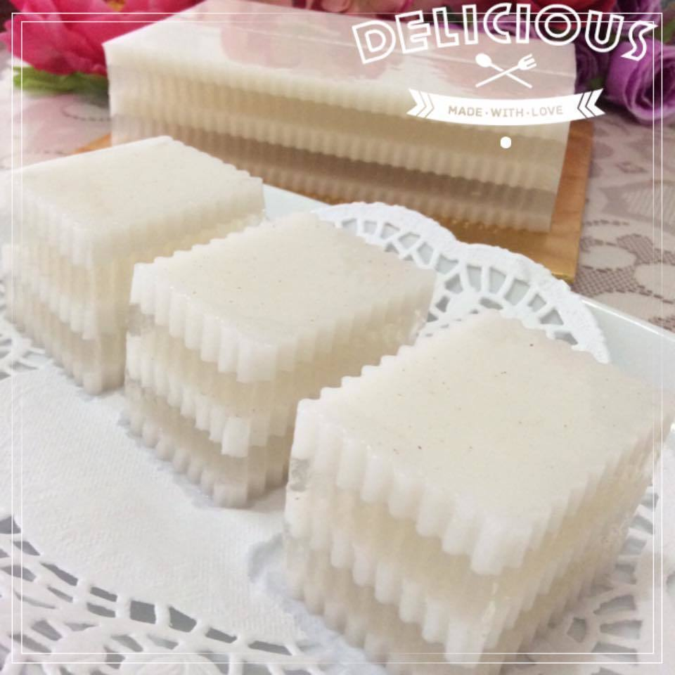 ~~ Coconut Jelly Duo  ~~   椰香燕菜蛋糕~~