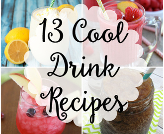 13 Cool Drinks