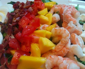 Shrimp and Mango Cobb
