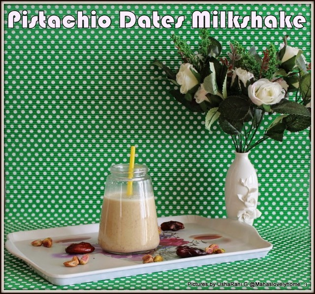 Pistachio Dates Oats Milkshake | Pistachio Milk Shake Without Ice cream | Healthy Milkshake For Kids | Low Calorie Breakfast Milkshakes