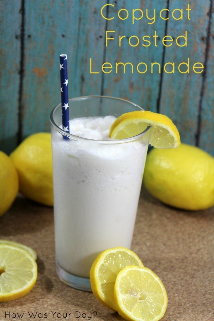 {Day 8} 12 Days of BBQ & Picnic Ideas #12Daysof #Recipes Copycat Frozen Lemonade