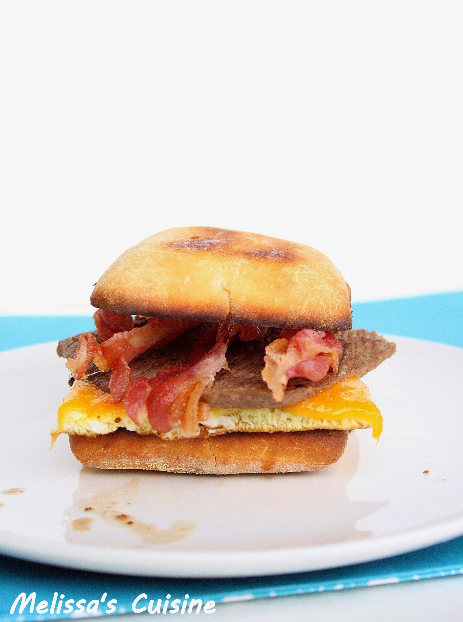 Steak and Egg Sandwich