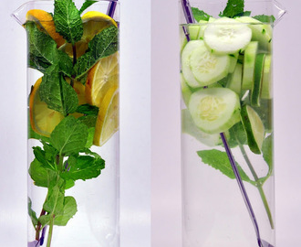 Water! Lemon Mint & Cucumber Lime Mint