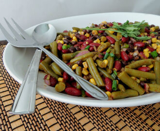 Southwest Three Bean Salad