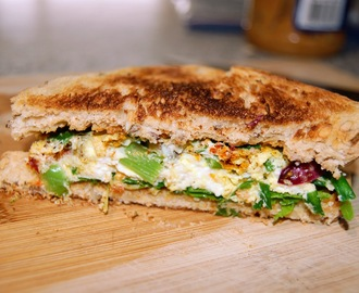 Easy Breakfast Egg Sandwich