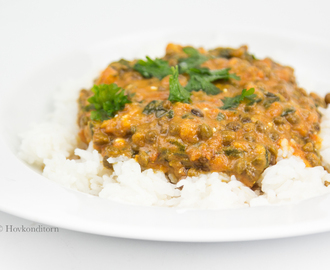 Vegan Lentil Spinach Curry