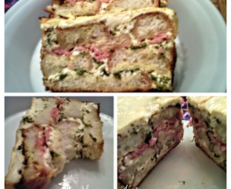 TORTA OD FRANCUSKOG HLEBA & CAKE OF FRENCH BREAD