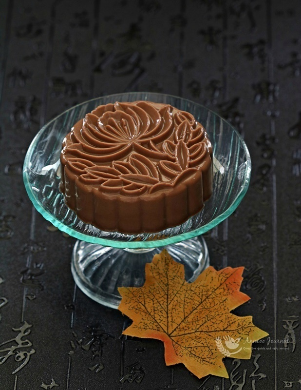 Chocolate Nutella Jelly Mooncakes 巧克力榛子果冻月饼