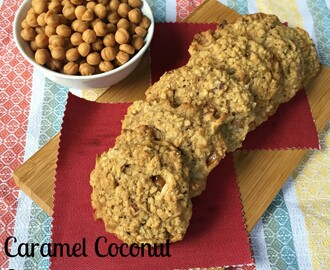 Caramel Coconut Cookies #CreativeCookieExchange